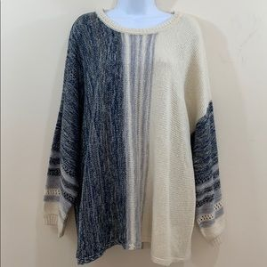 New Directions Curvy Long Sleeve Sweater  Size 3X